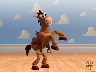 обои Toy story 3 быстрая лошадка фото
