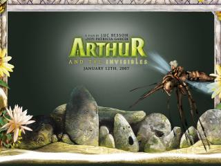 обои Артур и минипуты жук фото