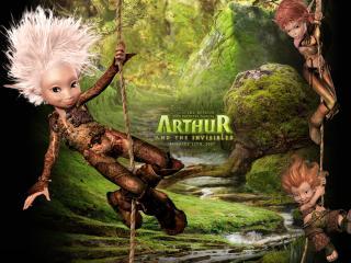 обои Артур и минипуты комманда фото
