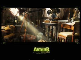 обои Артур и минипуты комната фото