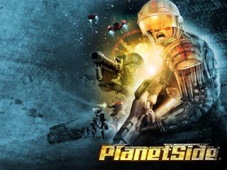 обои PlanetSide солдаты фото