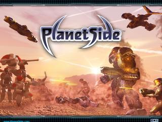 обои PlanetSide стрельба фото