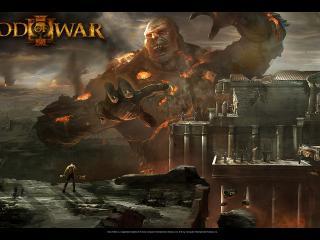 обои God of War III большой фото