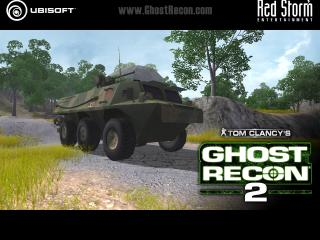 обои Ghost Recon 2 бтр фото