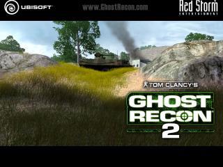 обои Ghost Recon 2 танк на горе фото