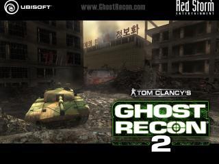 обои Ghost Recon 2 танк фото