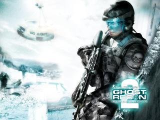 обои Ghost Recon Advanced Warfighter 2 сильный фото