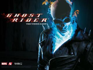 обои Ghost Rider череп фото