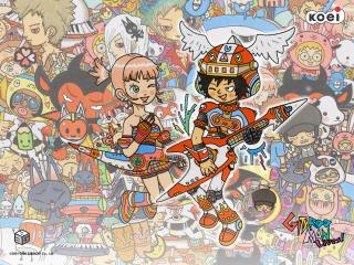 обои Gitaroo Man Lives! игроки фото