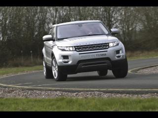 обои Range Rover Evoque 2011 спереди в повороте фото