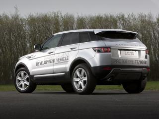 обои Range Rover Evoque 2011 - слева сзади фото
