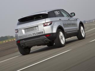 обои Range Rover Evoque 2011 тестирование фото