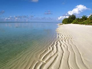 обои Кубинский пляж белого песка фото