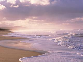 обои Маленький шторм красного моря фото