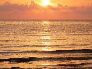 обои Закат солнца на средиземноморье фото