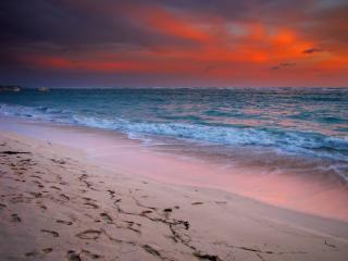 обои Средиземное море перед штормом фото