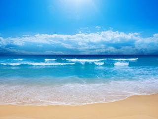обои Лазурный пляж Флориды фото