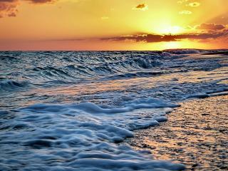 обои Закат на океане фото