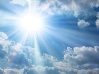 обои Солнце в зените фото