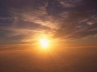 обои Облака солнце небо фото
