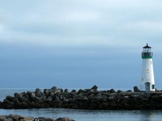 обои Белый маяк фото