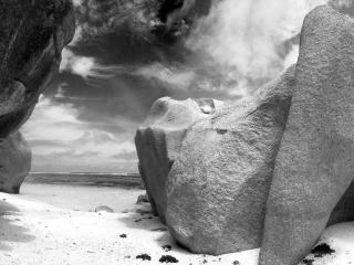 обои Камни песок фото