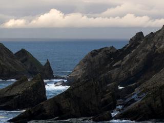 обои Море скалы фото