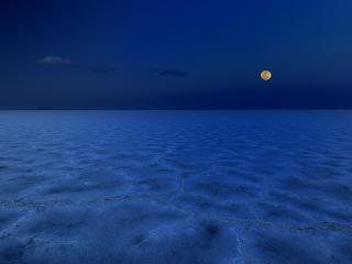 обои Ночная пустыня фото