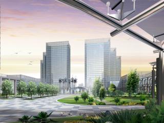 обои для рабочего стола: Современный город