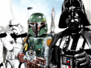 обои Звездные солдаты фото