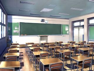 обои Школа,   пока пустой класс фото