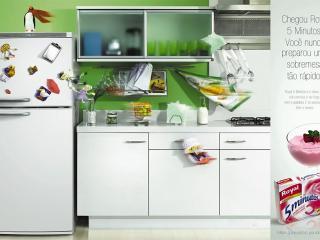 обои Кухня и рецепт пятиминутки фото