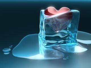 обои Замороженное сердце фото