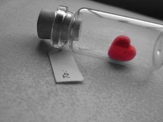 обои Сердце в банке фото
