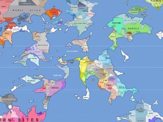 обои Карта сайтов фото
