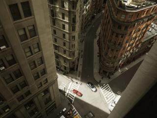 обои Город сверху фото