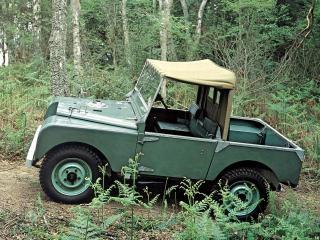 обои Land Rover 80 Prototype бок фото