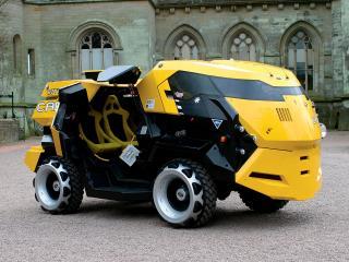 обои для рабочего стола: Land Rover City CAB Concept бок