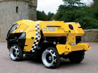 обои для рабочего стола: Land Rover City CAB Concept зад