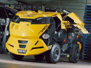 обои Land Rover City CAB Concept спереди фото