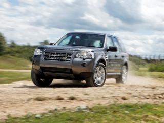 обои Land Rover Diesel ERAD Hybrid Prototype занос фото
