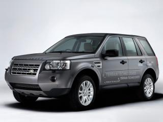 обои Land Rover Diesel ERAD Hybrid Prototype передок фото