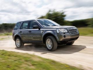 обои Land Rover Diesel ERAD Hybrid Prototype поворот фото