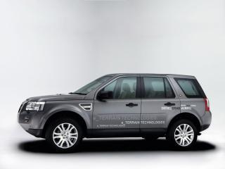 обои Land Rover Diesel ERAD Hybrid Prototype сбоку фото