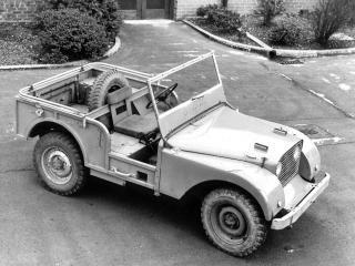 обои Land Rover Prototype (II) боком фото