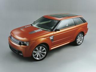 обои для рабочего стола: Land Rover Range Stormer Concept боком