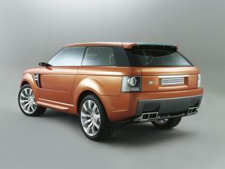 обои Land Rover Range Stormer Concept зад фото