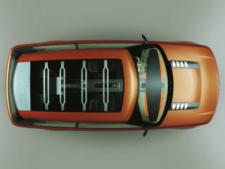 обои Land Rover Range Stormer Concept крыша фото