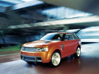 обои Land Rover Range Stormer Concept перед фото