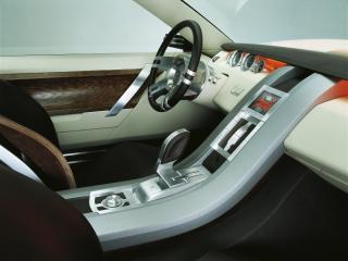 обои Land Rover Range Stormer Concept руль фото